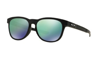 Oakley Stringer Matte Black/ Jade Iridium