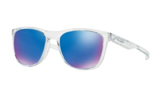 Oakley Trillbe X Polished Clear/ Sapphire Iridium Polarized