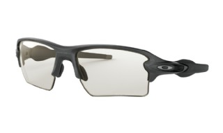 Oakley Flak 2.0 XL Steel/ Clear Black Iridium Photochromic