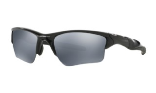 Oakley Half Jacket 2.0 XL Polished Black/ Black iridium Polarized