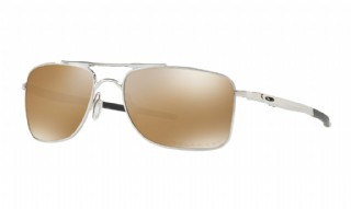 Oakley Gauge 8 M(edium) Polished Chrome/ Tungsten Iridium Polarized