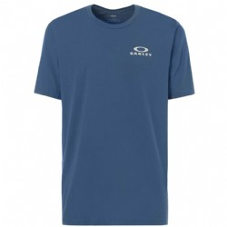 Oakley 50-Bark Repeat Tee/ Ensign Blue