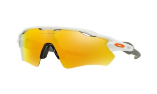 Oakley Radar EV Path Team Colors Collection Polished White/ Fire Iridium