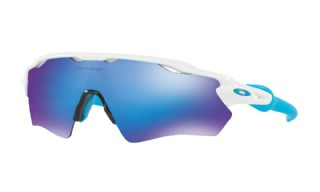 Oakley Radar EV XS (extra small) Path Polished White/ Sapphire Iridium
