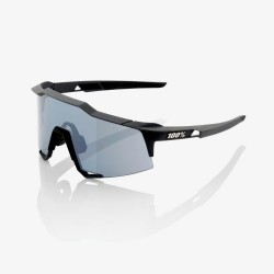 100% Speedcraft Soft Tact Black/ Smoke Lens