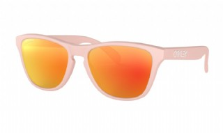 Oakley Frogskins XS (extra small) Matte Pink/ Prizm Ruby