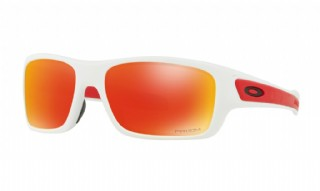 Oakley Turbine XS Polished White/ Prizm Ruby
