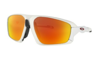 Oakley Field Jacket Matte White/ Prizm Ruby