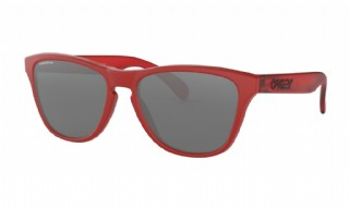 Oakley Frogskins XS (extra small) Matte Red/ Prizm Black Iridium