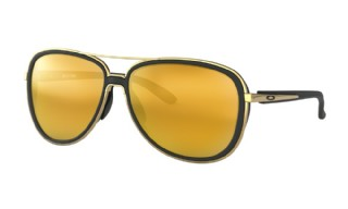 Oakley Split Time Soft Black / 24K Iridium