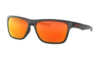 Oakley Holston Polished Black/ Prizm Ruby Polarized
