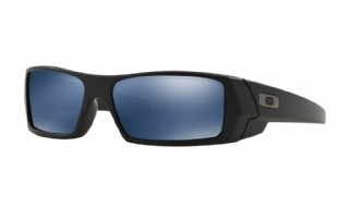 Oakley Gascan Matte Black/ Ice Iridium Polarized