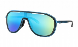 Oakley Outpace Polished Black/ Prizm Sapphire