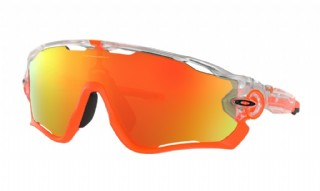 Oakley Jawbreaker Crystal Pop Crystal Clear / Fire Iridium