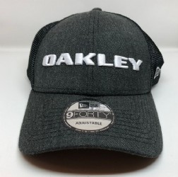 Oakley Heather New Era Cap/ Blackout