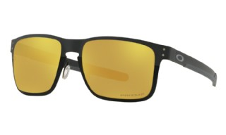 Oakley Holbrook Metal Midnight Matte Black / Prizm 24K Polarized