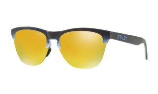 Oakley Frogskins Lite Splatterfade Collection Black, Fade Silver / 24K Iridium