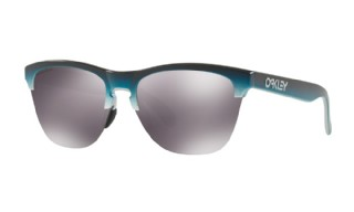 Oakley Frogskins Lite Splatterfade Collection Black Tea Fade Silver / Prizm Black Iridium