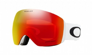 Oakley Flight Deck Matte White/ Prizm Snow Torch Iridium