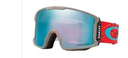 Oakley Line Miner Arctic Fracture Red Sea/ Prizm Sapphire