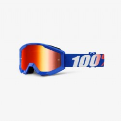 100% Strata Jr. (Youth) Goggle Nation/ Mirror Red