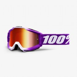 100% Accuri Jr. (Youth) Goggle Framboise/ Mirror Red