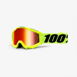 100% Accuri Jr. (Youth) Goggle Fluo Yellow/ Mirror Red