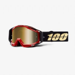 100% Racecraft Goggle Hot Rod/ Mirror True Gold