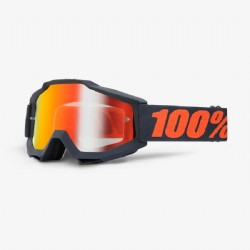 100% Accuri Goggle Matte Gunmetal/ Mirror Red