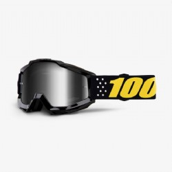 100% Accuri Jr. (Youth) Goggle Pistol/ Mirror Silver