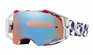 Oakley Airbrake MX Troy Lee Design Red White Blue/ Prizm Sapphire Iridium