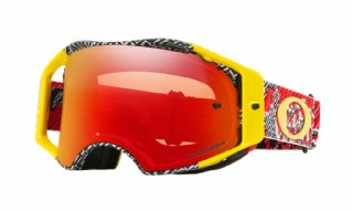 Oakley Airbrake MX Dazzle Dyno Red/ Prizm Torch