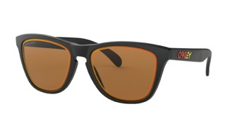 Oakley Frogskins Fire and Ice Collection Matte Black/ Prizm Bronze