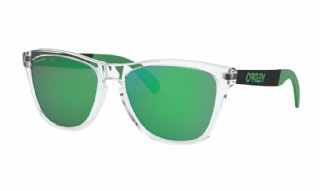 Oakley Frogskins Mix Polished Clear /  Prizm Jade