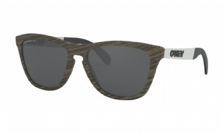 Oakley Frogskins Mix Woodgrain / Prizm Black Polarized