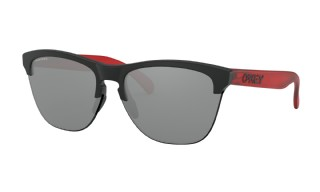 Oakley Frogskins Lite Urban Collection Matte Black, Transition Red/ Prizm Black Iridium