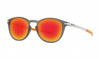 Oakley Pitchman R Ember Collection Matte Grey Smoke / Prizm Ruby