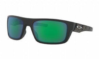Oakley Drop Point Matte Black Prizmatic/ Prizm Jade Iridium Polarized