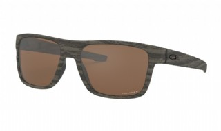 Oakley Crossrange Woodgrain/ Prizm Tungsten Polarized