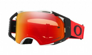 Oakley Airbrake MX Red White/ Prizm MX Torch