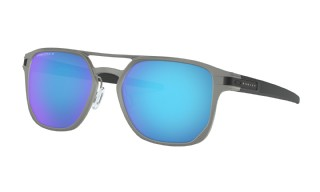 Oakley Latch Alpha Matte Light Gunmetal/ Prizm Sapphire Polarized