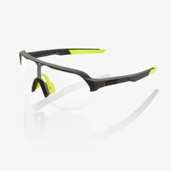 Ride 100% S2 Soft Tact Cool Grey/ Photochromic Lens