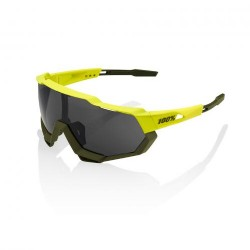 100% Speedtrap Soft Tact Banana/ Black Mirror Lens