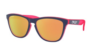 Oakley Frogskins Crystalline Collection Translucent Neon Pink/ Prizm Rose Gold