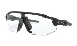 Oakley Radar EV Advancer Matte Black/ Clear/Black Iridium Photochromic
