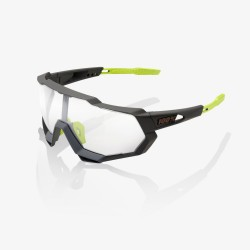 100% Speedtrap Soft Tact Cool Grey/ Photochromic Lens