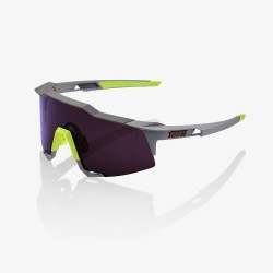 100% Speedcraft Soft Tact Midnight Mauve/ Purple Lens