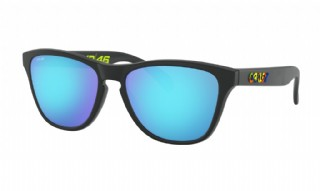 Oakley Frogskins XS (extra small) VR46 Polished Black / Prizm Sapphire