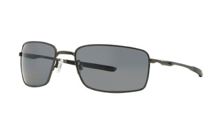 Oakley Square Wire Carbon/ Grey Polarized