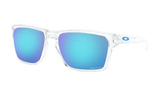 Oakley Sylas Polished Clear/ Prizm Sapphire